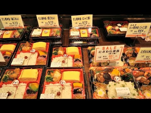 HUGE Japanese Department Store Basement Food Hall - Takashimaya Japan