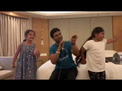 CharuSeela Song Performance by Sitara Papa and Aadhya -Devi Sri Prasad