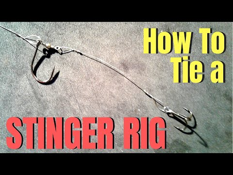 How To Tie A STINGER RIG