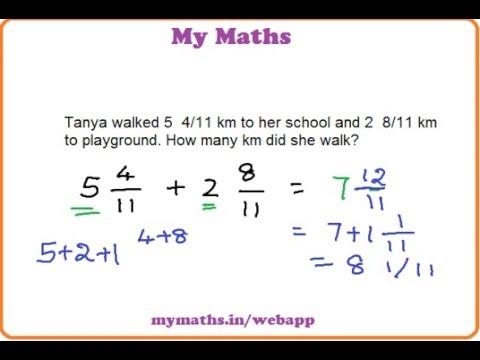 Ganit margadarsak addition of mixed fractions word problem 2 ganit margadarsak addition of mixed fractions word problem 2 youtube ibookread ePUb