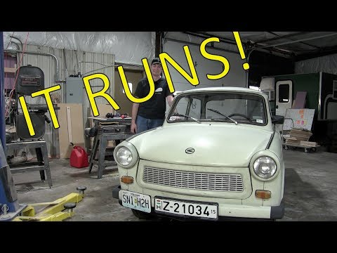 Rebuilding the Trabant's Engine: Part 4 - Finale