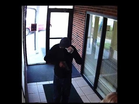 Surveillance video: Bayport Credit Union robbery