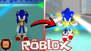 IL SEGRETARIO TRANSFORMATION Di SONIC IN ROBLOX SONIC UNIVERSE IN ROBLOX LEON PICARON