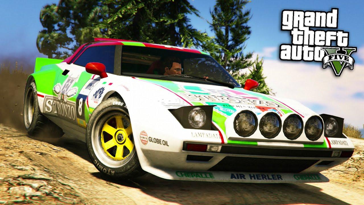 Gta online fully upgraded lampadati tropos rally car build customisation showcase gta 5 youtube