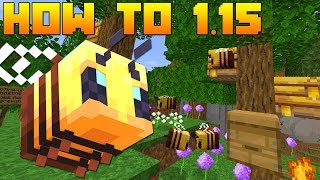 Minecraft 1.15 | How To: Get Beehives & Bee Nests Guide