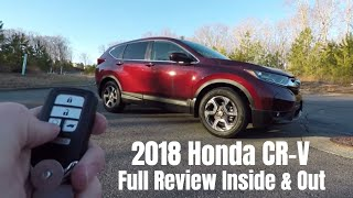 2018 Honda CR-V - Full Review, Inside & Out