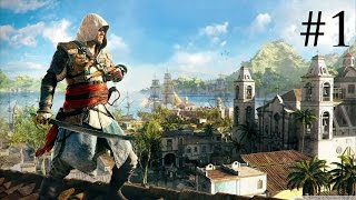 Assassin's Creed IV: Black Flag - PS4 Livestream Gameplay #1