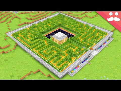 I Made a Peaceful Safe House in Minecraft - Mumbo Jumbo