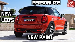 INSIDE the NEW MINI Cooper S 2018 Interior Exterior DETAILS w/ REVS