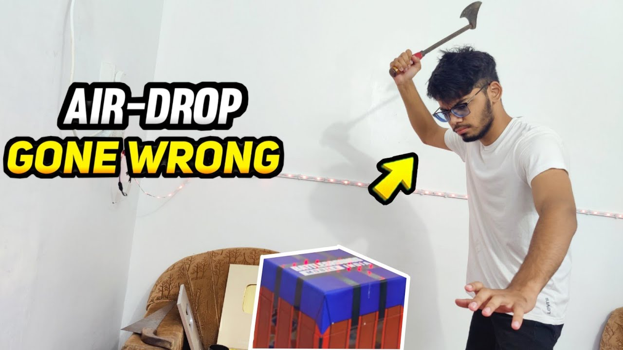 AIR-DROP OPENING - GONE WRONG 😮
