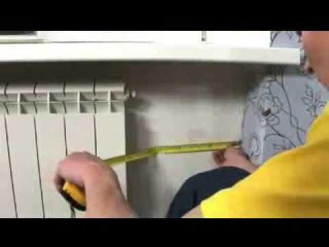 0 - Як клеїти шпалери за батареєю?