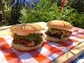 Nejlepší grilovaný křupavý bůček burger recept 🍔 🍔 🍔