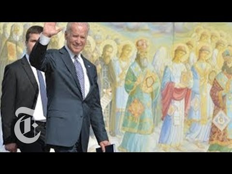 Joe Biden Wraps Up Kiev Visit | Times Minute 4/22/14 | The New York Times
