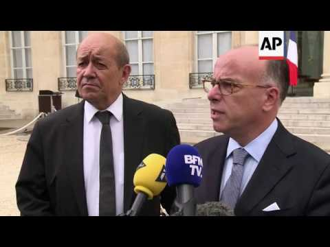 Cazeneuve on security measures for public events