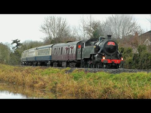 RPSI Santa Specials 2017, Steam & Diesel