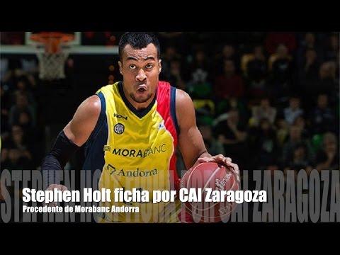 Stephen Holt nuevo jugador del CAI Zaragoza
