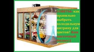 цветочный бизнес. Как выбрать холодильник для цветов? Рекомендации для начинающих!