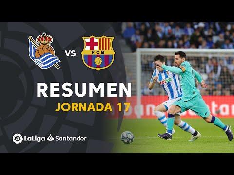 Resumen De Real Sociedad Vs FC Barcelona (2-2)