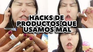 HACKS DE PRODUCTOS QUE USAMOS MAL. MAIRE VS EL INTERNET