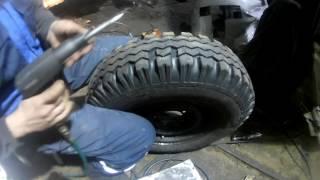 Нарезка Я-245 Белая Нива / Lada Niva Tyres hand-made