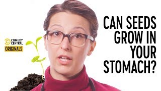 Can A Tree Grow In My Stomach If I Swallow A Seed? - Your Worst Fears Confirmed