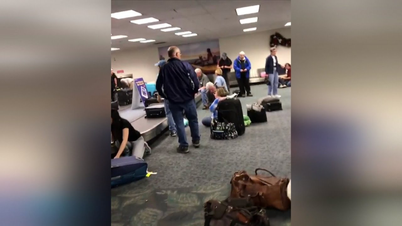 Shocking Video Shows The Grim Aftermath Of Fort Lauderdale Airport