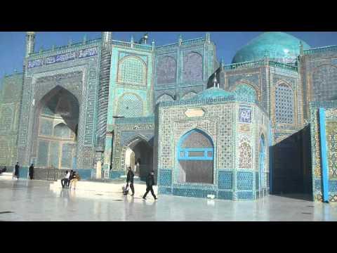 Hazrat Ali Shrine And Blue Mosque Part 2 In Masar E Sharif   Afghanistan   Feb 2016