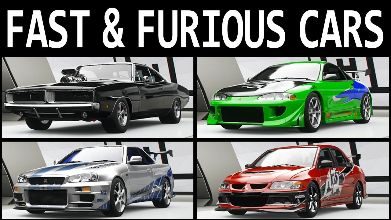 All Fast And Furious Cars >> Fast Furious Cars In Forza Horizon 4 Part 1 1 7 All 65 Cars In The Movies
