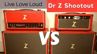 Dr Z Shootout! Carmen Ghia vs Therapy