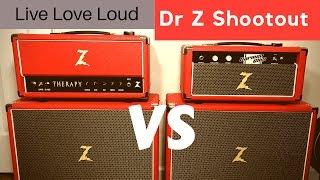 Dr Z Shootout! Carmen Ghia vs Therapy