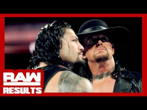 UNDERTAKER vs. REIGNS CONFIRMED! WWE Raw Review & Results (Going in Raw Podcast Ep. 183)