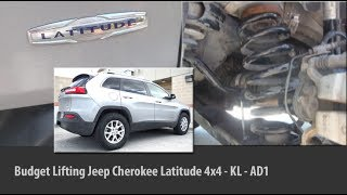 Lifting Jeep Cherokee Latitude 4x4 KL - AD1