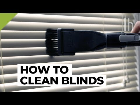 How to Clean Blinds the Fast and Easy Way