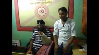 Nati king Kuldeep Sharma And KK for their New Music Album Chalte Chalte in Bilaspur HP 2.AVI