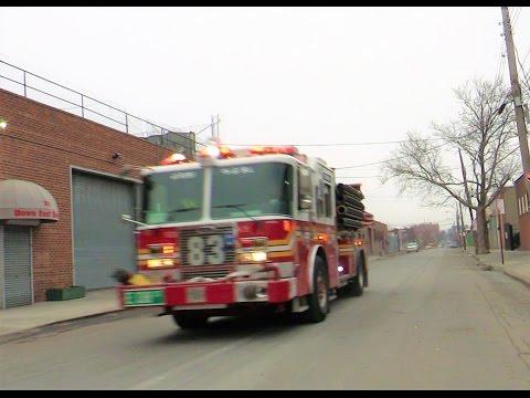 FDNY Engine 83 Responding modified thru Hunts Point Bronx, NY