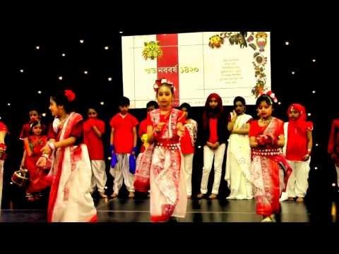 Jhun jhun moyna nacho na - Indrani Sen (Bangla Academy Cardiff, UK)