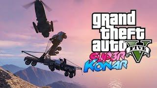 GTA 5 online - Best of funny moments #39 (Zizi poulet, Mont Chiliad stunts)