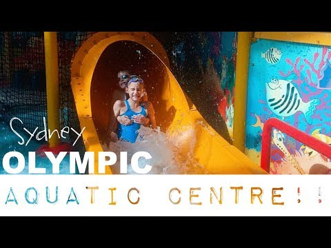 Sydney Olympic Aquatic Centre!!