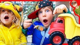 TRUCKS FOR KIDS MAKE STONE SOUP!
