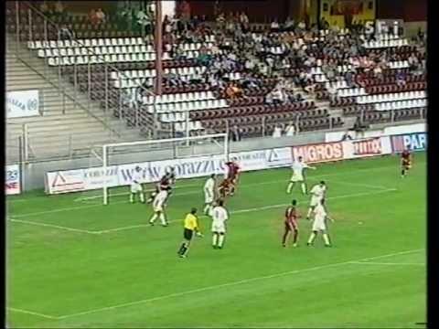 2002-03 UEFA-Europacup 29.08.2002: Servette FC - Spartak Erevan 3:0