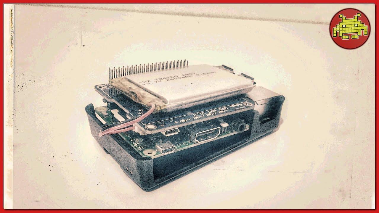 UPS HAT Board + 2600mAh Lithium Battery per Raspberry Pi ⊷ #gon_Esperimenti