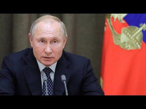 Путин назвал расширение НАТО угрозой для России