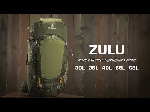 Men's Zulu (Ventilated Backpacking) | Gregory Packs