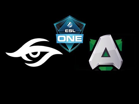 Secret vs Alliance ESL One Hamburg 2018 Highlights Dota 2