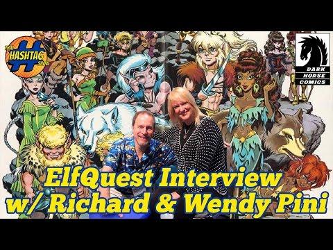 Dark Horse Comics: ELFQUEST Creator Interviews w/ Wendy & Richard Pini