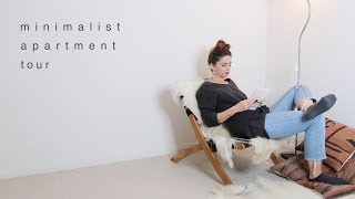 Minimalist Apartment Tour 2018 | A Small Wardrobe