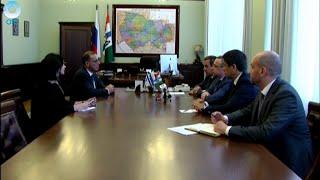 В Новосибирск прибыл чрезвычайный и полномочный посол Государства Израиль в Российской Федерации
