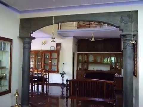 Great house design peyad thiruvanthapuram kerala youtube - Kerala style pillar design ...