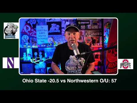 Ohio State vs Northwestern 12/19/20 Free College Football Picks and Predictions CFB Tips