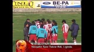 nevşehirspor unutulmaz final